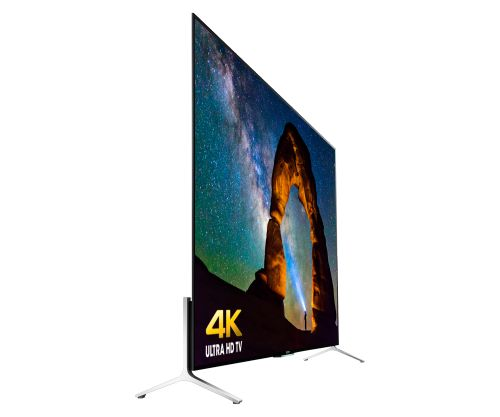Sony 4K Ultra HD TV: XBR-65X900C. Sony announced a new 4K TV line up that is claimed to be the thinnest TV in the world with the thickness of only 0.2 inch.
