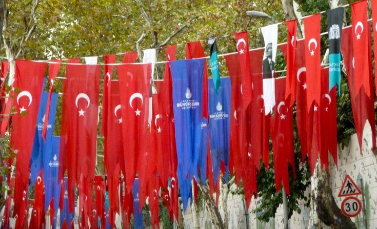 Republic Day in Istanbul, Turkey