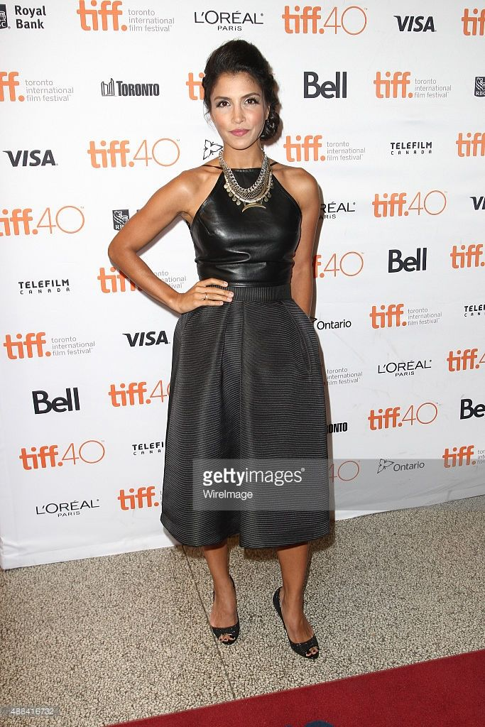 Actress Nazneen Contractor attends the 'Heroes Reborn' Premiere during the 2015 Toronto International Film Festival held at Winter Garden Theatre on September 15, 2015 in Toronto, Canada.
