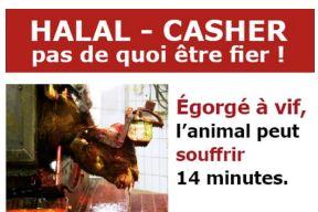 L'ON VOUS OBLIGE À CONSOMMER DE LA VIANDE HALAL OU CASHER!