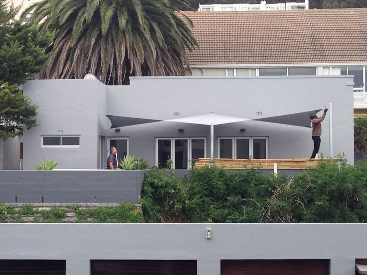 Sail, shade cloth - Instow Cottage, Dorchester, 271 High Level Road, Sea Point, Cape Town, 8005, 2014