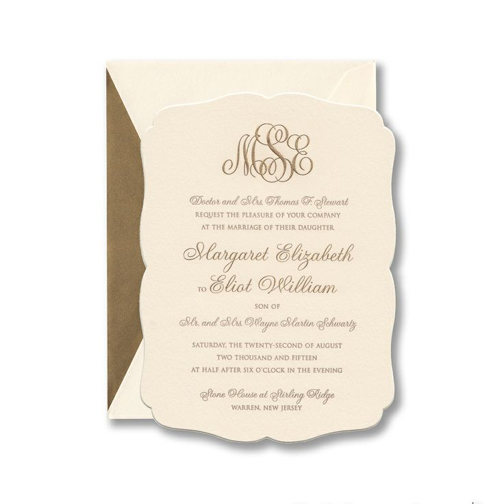 37 best wedding invitations images on pinterest | william arthur, Wedding invitations