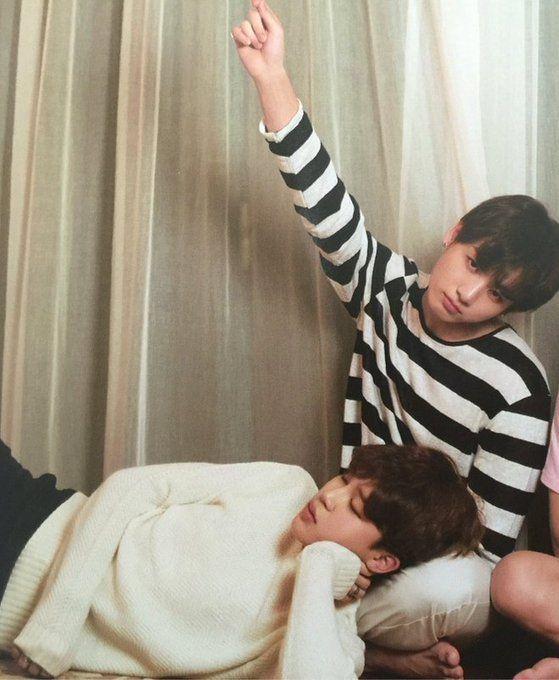 """Jikook! Jungkook is like...""""ok, get him off me"""""""