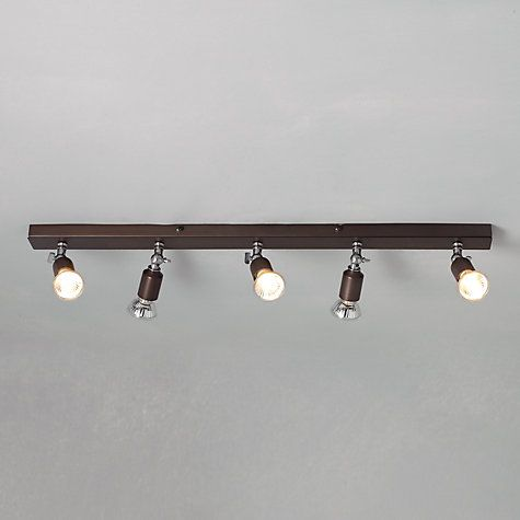 Just found these lovely ceiling lights at John Lewis  would look great in the extension  Buy John Lewis Churchill 5 Spotlight Ceiling Bar Online at johnlewis.com