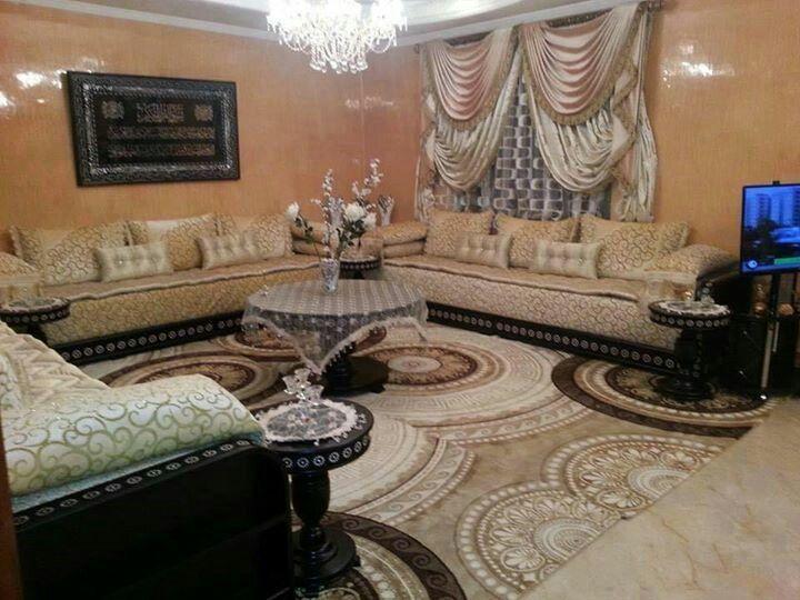 458 fantastiche immagini su moroccan living room salons - Salon marocain bleu roi ...