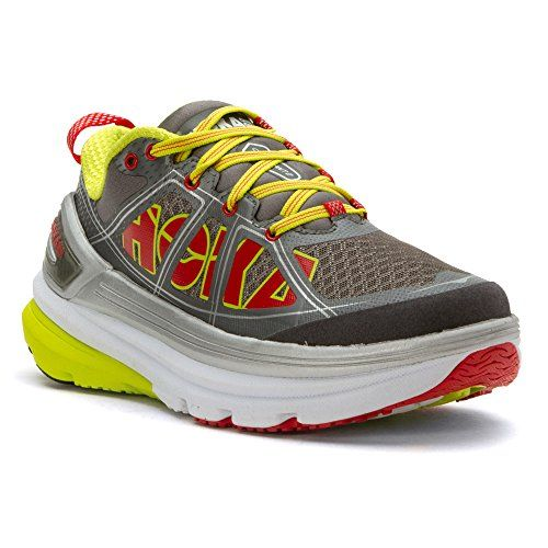 Hoka One One Women's Constant 2 Grey/Acid 10.5 M * You can get additional details at the image link.