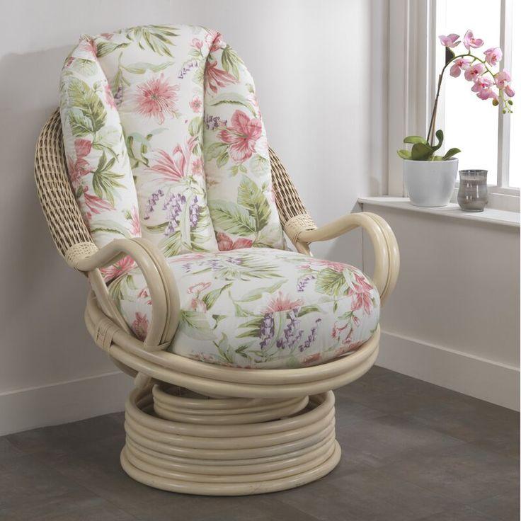 Barrington blossom rocker swivel armchair swivel