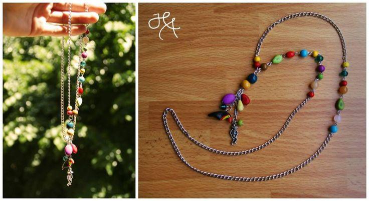 handmade by Hana ◦ el caribeño ◦  náhrdelník/collana/necklace https://www.facebook.com/hmbyha?fref=ts
