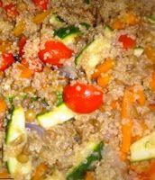 ⇒ Le nostre Bimby Ricette...: Bimby, Quinoa alle Verdure