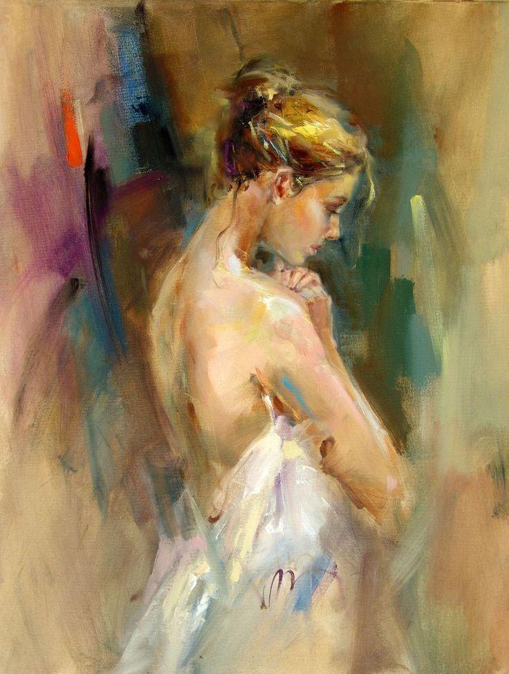 "Gallery D'May | Featured Artists | Anna Razumovskaya | ""Silent Prayer"""