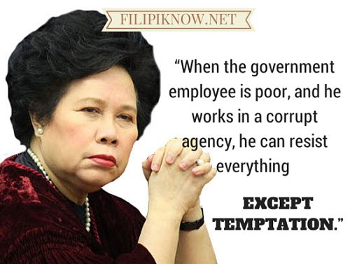 51 Of The Most Memorable Political Quotes From Miriam Defensor-Santiago