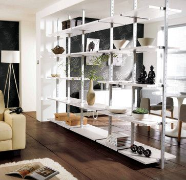 Love This Open Shelving Room Divider Very Practical