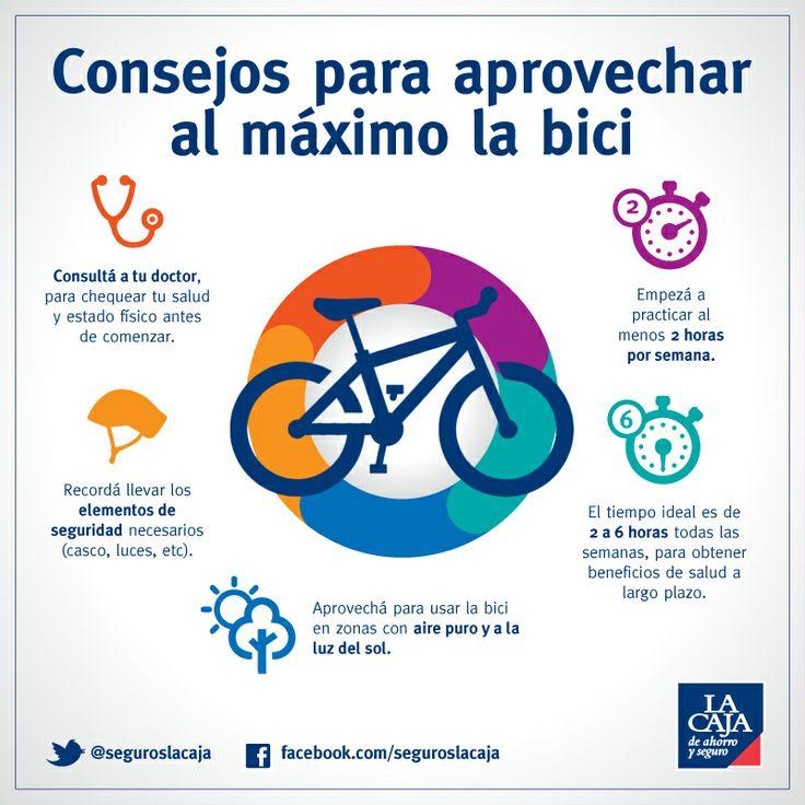 Consejos para aprovechar al m ximo la bici infografia - Beneficios de la bici eliptica ...