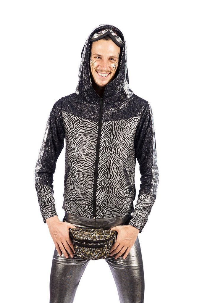State of Disarray! Silver Sonic Boom Retro Space - Jacket  #stateofdisarray #recklessfashionrevolution #festivalfashion #festivaloutfit #streetstyle #fashiondesigner #summerstyle #ootd #futureretro #slimcuthoody #hoody #animalprint #metallic #fashionweek #ravewear #clubkid #edm #secretgardenparty #burningman #boomtown #coachella #glastonbury #ibiza #shambala #rainbow #psychedelic #80's #fancydress #dressup #costume #statementfashion #harajukufashion #kawaiifashion #cosplay #kawaii #harajuku