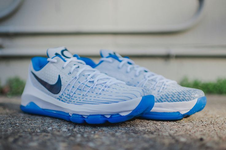 official photos c2b06 49cea ... Nike KD 8 VIII Kevin Durant Home 749375-144 Basketball Shoes Kevin  durant, ...
