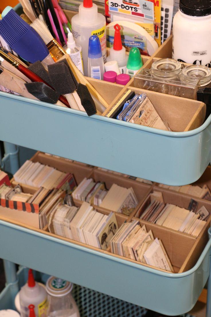 Ikea storage bin insert