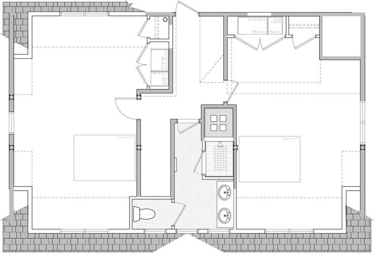 1000 images about cape cod renovations on pinterest 2nd for Cape cod second floor plans