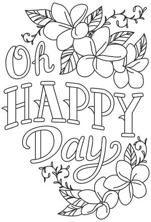 Warm Thoughts - Oh Happy Day   Urban Threads: Unique and Awesome Embroidery Designs