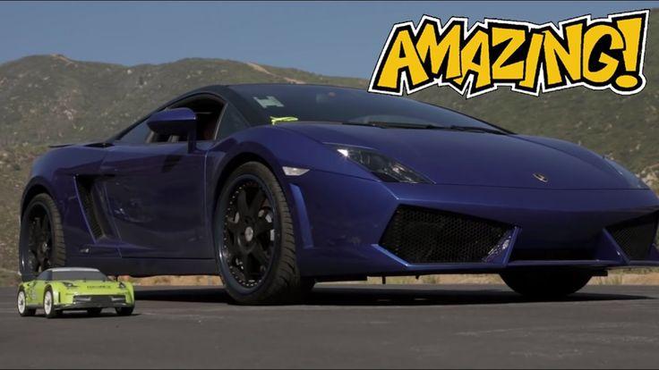 DRAG ● Wow!!! Mobil Remot Kalahkan Lamborghini