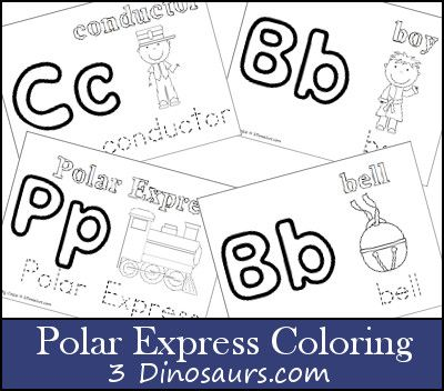 1000 images about polar express on pinterest christmas for Polar express color pages