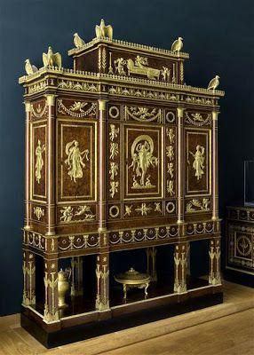 Arts décoratifs Premier Empire - Serre-bijoux de l'Impératrice provenant du palais des Tuileries (Louvre)