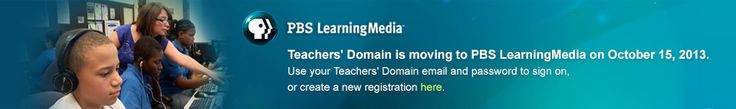 PBS Teachers' Domain is a free digital media service for educational use from public broadcasting and its partners. You'll find thousands of media resources, support materials, and tools for classroom lessons, individualized learning programs, and teacher professional learning communities.