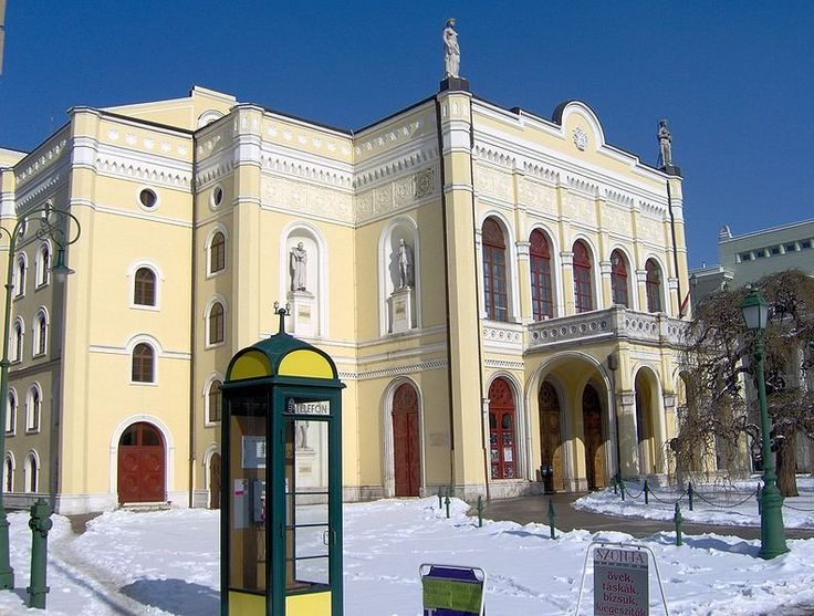 Csokonai Theatre, Debrecen, Hungary | Debrecen, Hungary