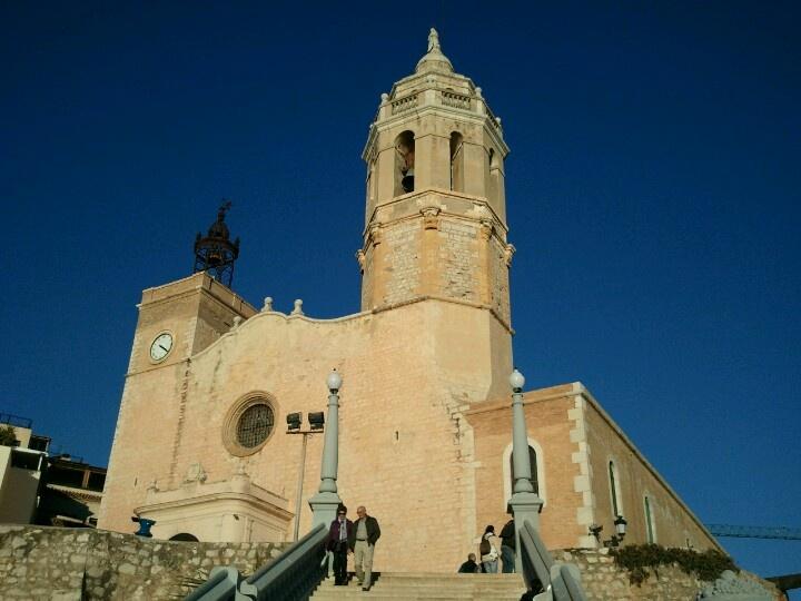 La Punta, la cosa més fotografiada de Sitges.