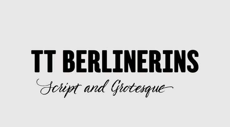 TT Berlinerins Font Duo – Download