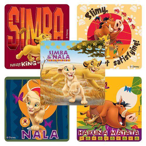 Disney Lion King: Hakuna Matata Stickers - Party Favors - 75 per Pack SmileMakers http://www.amazon.com/dp/B00EIIXLPQ/ref=cm_sw_r_pi_dp_21fUvb1CJ8779