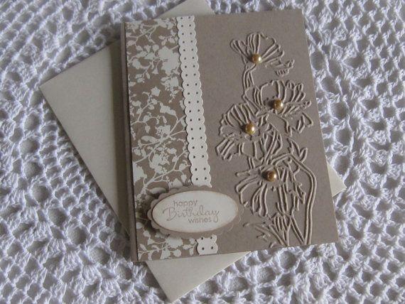 Stampin' Up Handmade Greeting Card Birthday by ConroysCorner, $3.75