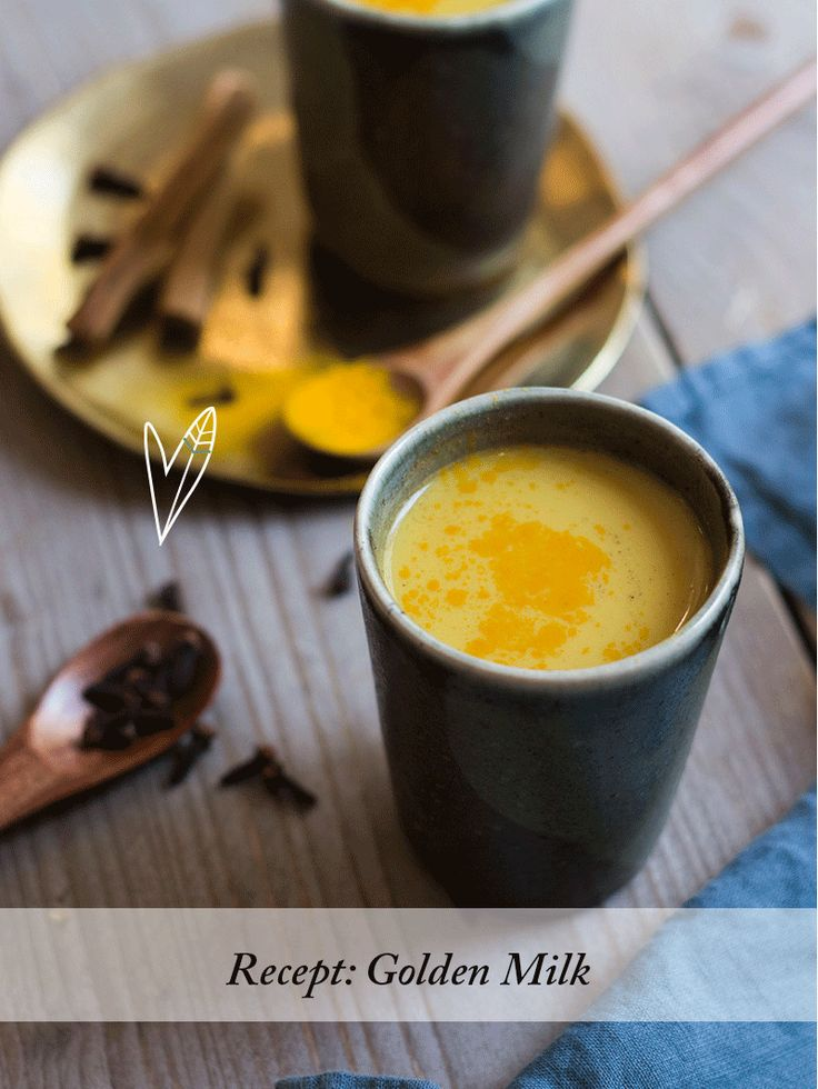 Recept: Golden Milk