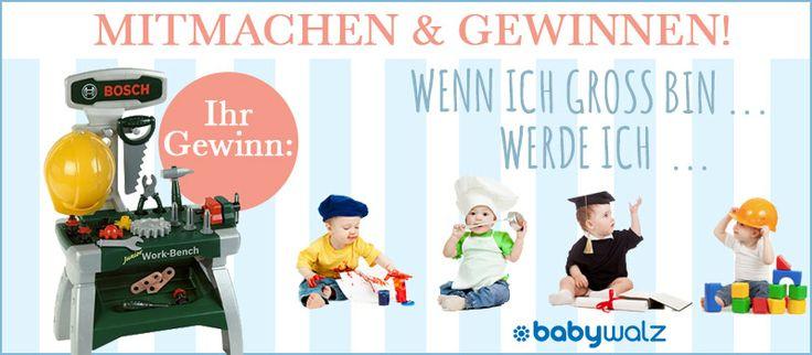 Kinder Werkbank von Bosch gewinnen!