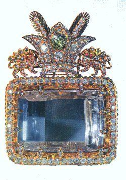 Considered to be the most celebrated diamond in the Iranian Crown Jewels and one of the oldest known to man, the 186-carat Darya-i-Nur