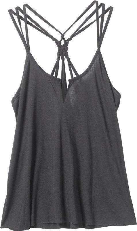 Love the multi-spaghetti straps on this tank top! (more colors)