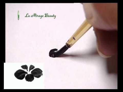 Роспись ногтей 1 - YouTube