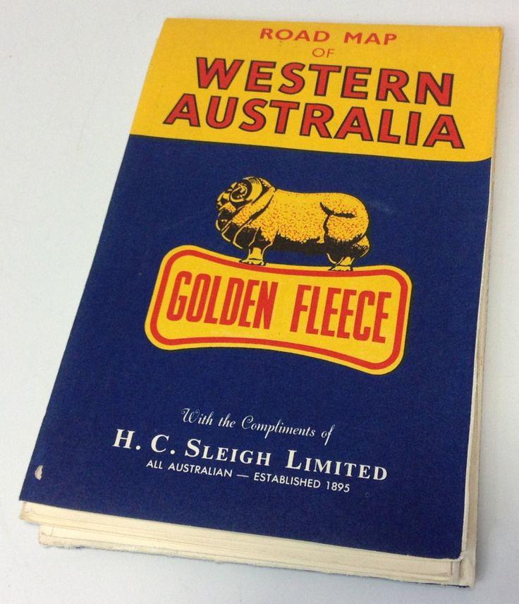 Golden Fleece service station road map