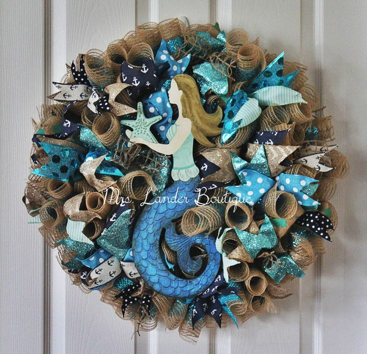 198 Best Wreath Images On Pinterest Deco Mesh Wreaths