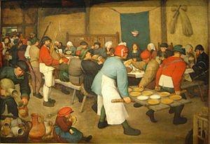 The Peasant Wedding - Pieter Brueghel