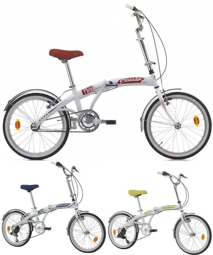 20 Zoll Damen Herren Klappfahrrad 1 Gang Cinzia Flexy Bike Herrenrad Faltrad Klapprad kaufen bei Hood.de
