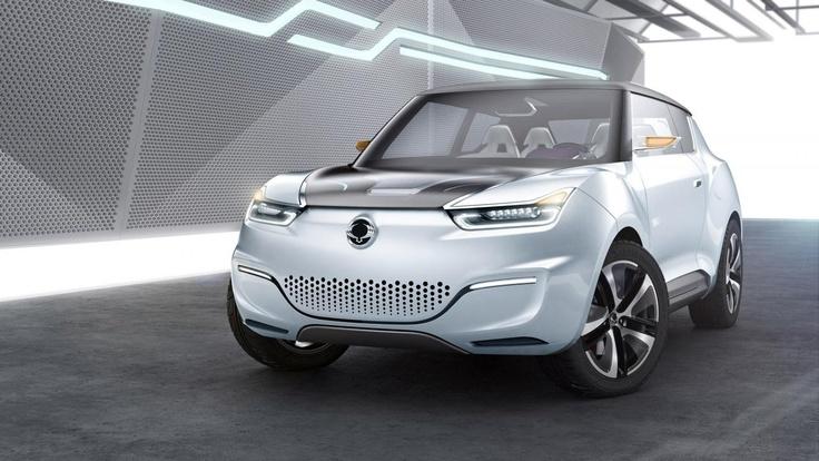 2012 e-XIV Concept SsangYong