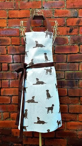 DOG APRON DUCKEGG Unisex Full Apron Kids Adult Plus Size Any Size Designer Cotton Canvas Rover Fabric Handmade Gift