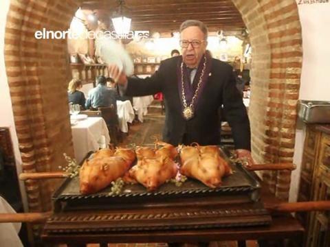 La venta de cochinillo de Segovia baja un 2% en restaurantes pero sube el 10% en carnicerías