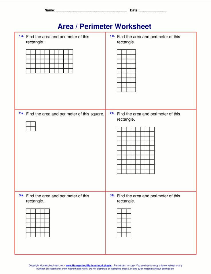 Printable Worksheets grade 2 perimeter worksheets : The 41 best images about maths on Pinterest | Area and perimeter ...