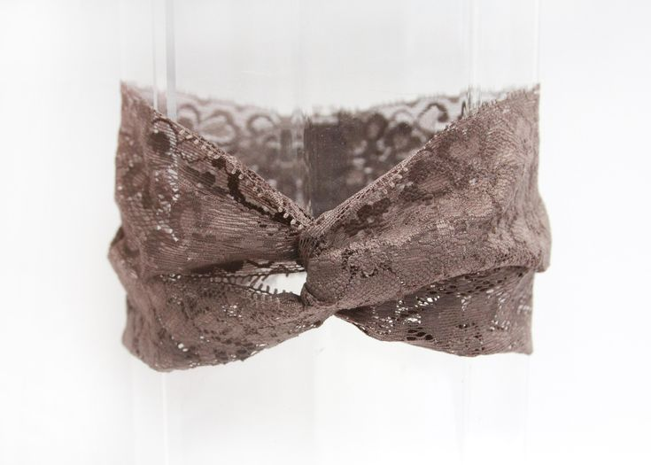DIY lace twist turban head wrap