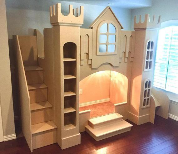 Castle Bed Castle Bunk Bed Playhouse Bed Princess Bed Castle