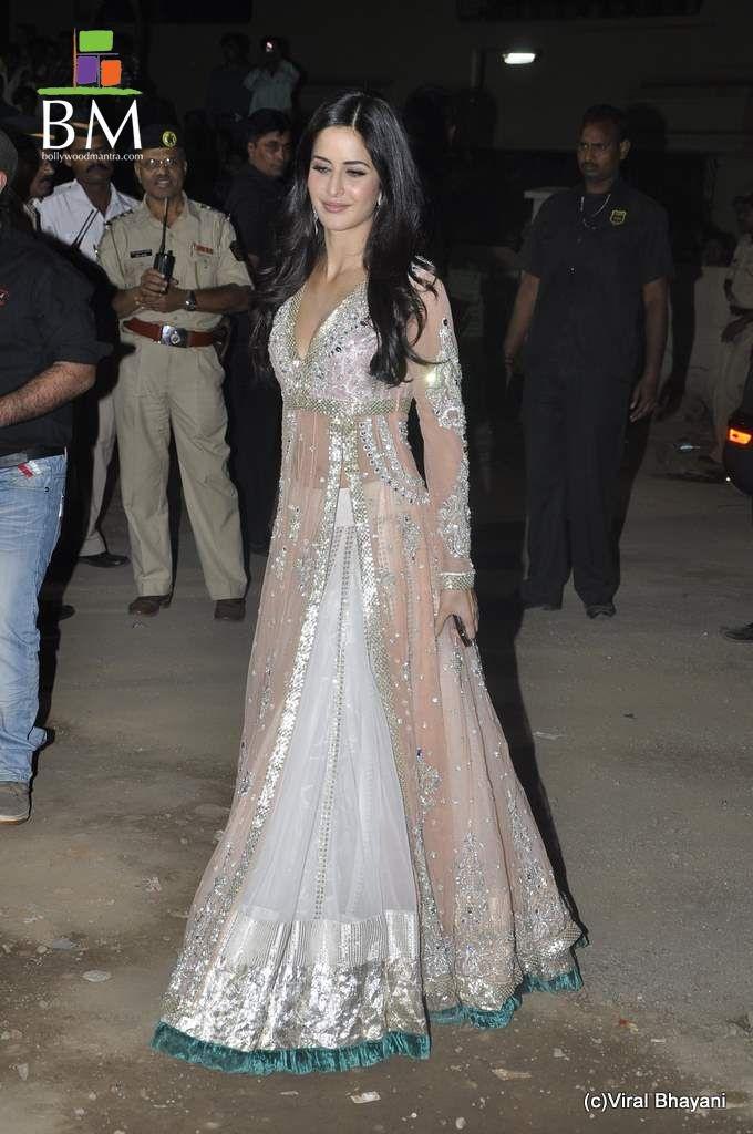 Anarkali - My favourite dress : Manish Malhotra - Katrina Kaif Peach Lehenga
