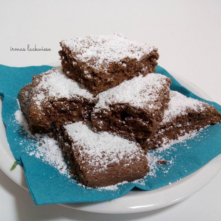 minz brownies mit mandeln (6)