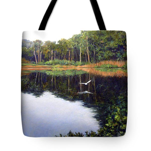 Smooth Landing Tote Bag by Michel McNinch