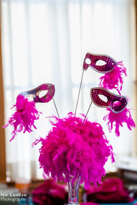 Green Brook Nj >> Purim-themed Bat Mitzvah centerpieces | It's Your Party